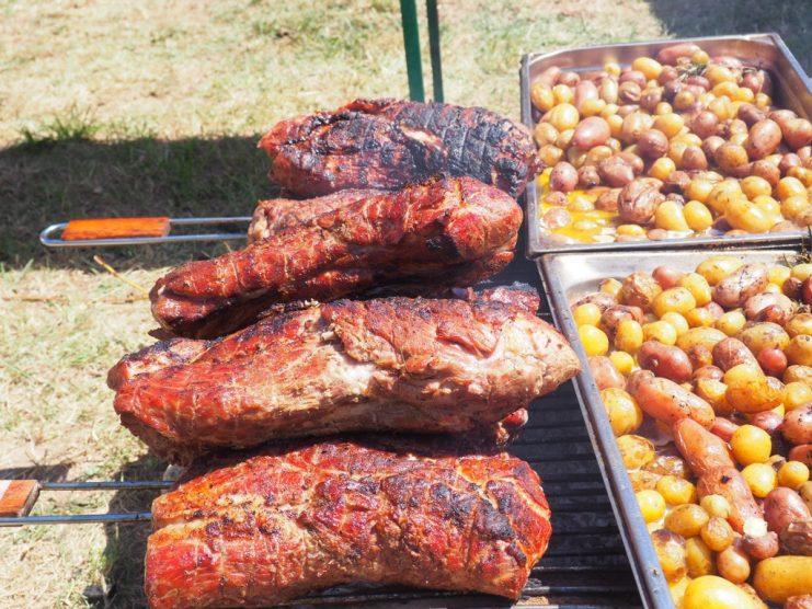 Cochon-grillé