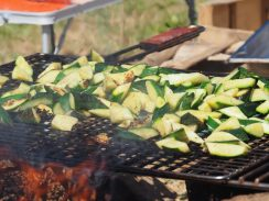 Courgettes-barbecue