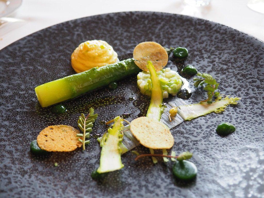 asperges vertes allium bernard loiseau