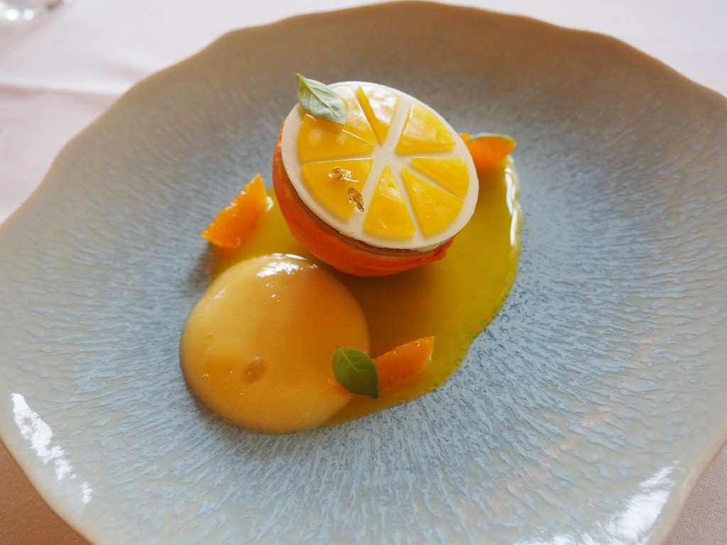 mandarine moutarde bernard loiseau