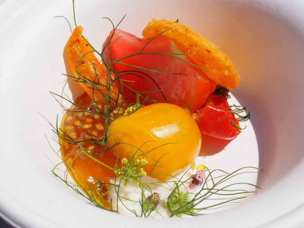 tomates burrata